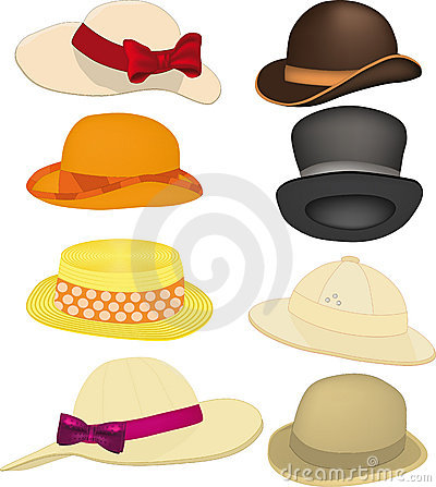 Free Complete Set Of Hats Stock Photos - 13311103