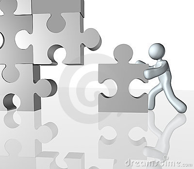 Completing Jigsaw puzzle