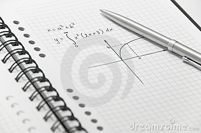 Complex math formula (with simple graph)