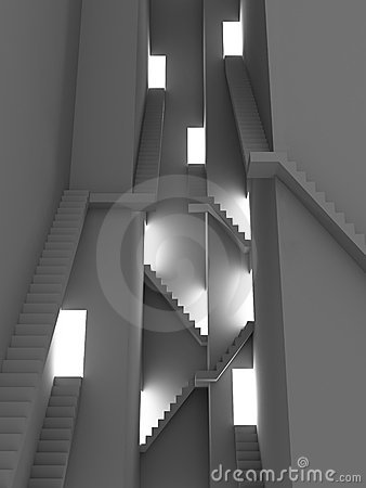 Complex stairs