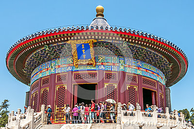 Complex Temple of Heaven Editorial Stock Image