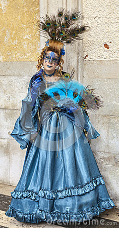 Complex Venetian Disguise Editorial Stock Image
