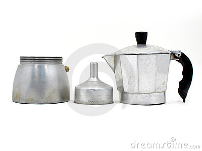 Component of Italian coffee maker