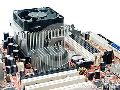 Component of mainboard computer