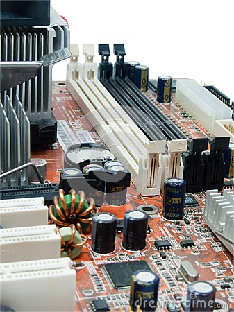Components of mainboard computer