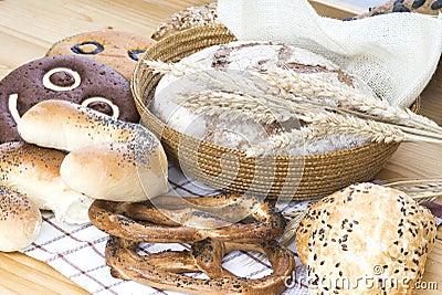 Composição do pão