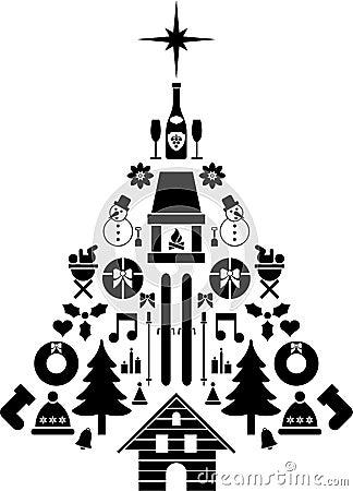 Composite Christmas tree