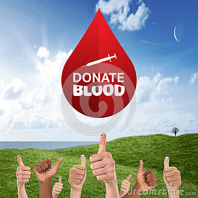 Free Composite Image Of Donate Blood Stock Photos - 55533813
