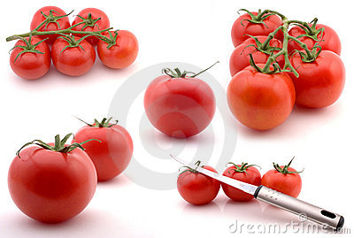 Composite of tomates