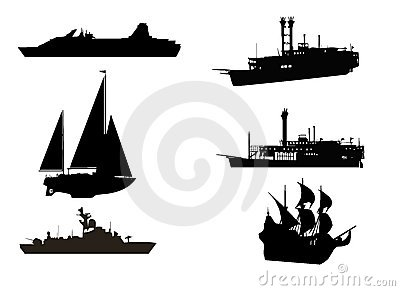 Composition of boats and ships