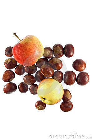 Composition of chestnuts and apples II