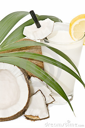 Composition with coconuts