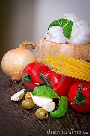 Composition of italian food ingredients