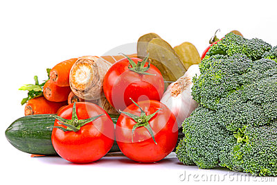Composition of fresh vegetables
