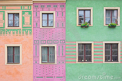 Composition Of Windows Stock Image - Image: 738451
