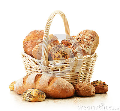 Free Composition With Bread And Rolls Royalty Free Stock Images - 26861749