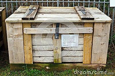 Compost boxas