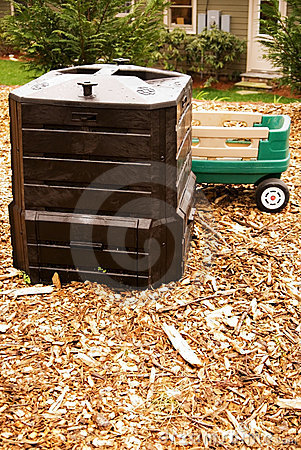 Composting in a home garden
