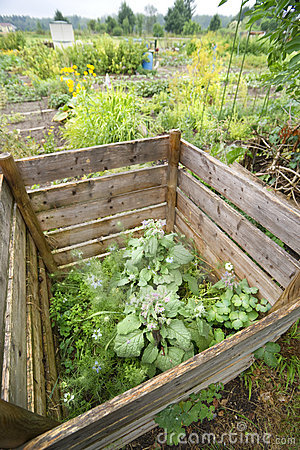 Compoststapel