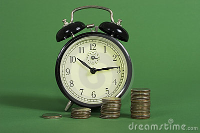 Compound interest with time