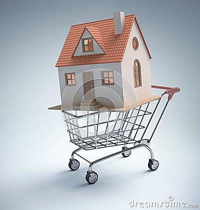 Compra em casa