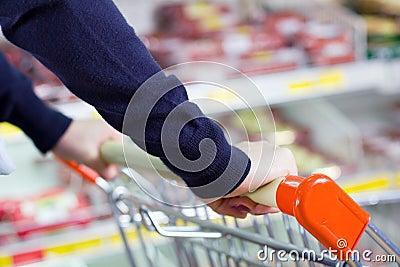 Compras de tienda de comestibles