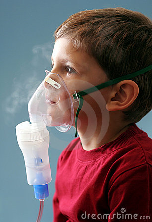 Free Compressor Nebuliser Therapy Stock Photography - 4218612