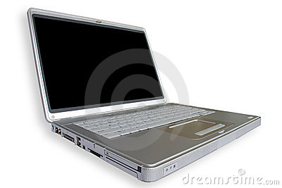 Computadora portátil ancha