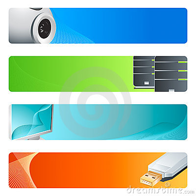Free Computer Banner Backgrounds Stock Photos - 4945423