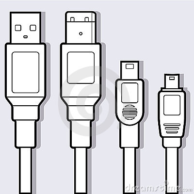 Computer Cables Diagram