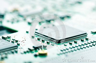 Computer chip and circuit board