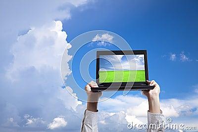 Computer in cloud
