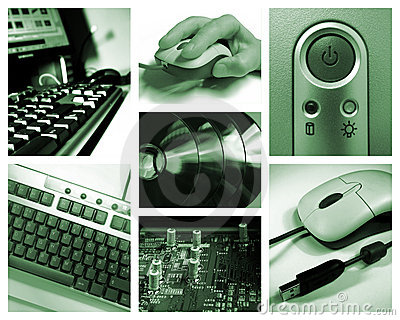 Computer collage