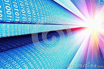 Computer communication technology background