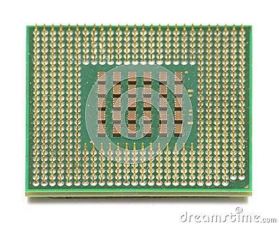 Computer CPU Chip