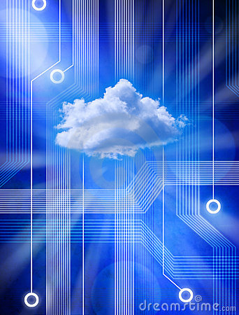 Free Computer Data Information Cloud Computing Network Server Royalty Free Stock Photography - 19802487