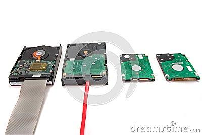 Computer-Daten-Festplattenlaufwerke