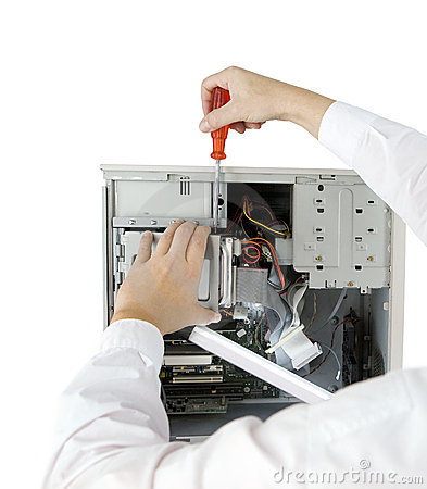 Free Computer Expert Royalty Free Stock Image - 7572606