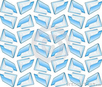 Computer folder seamless background