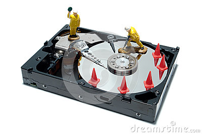 Computer Hard Disc Drive Concept for Repair