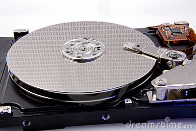 Computer hard drive and binary