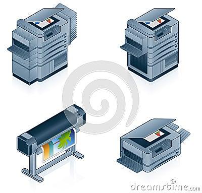 Free Computer Hardware Icons Set Royalty Free Stock Image - 2151296