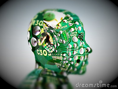 Computer Head 21
