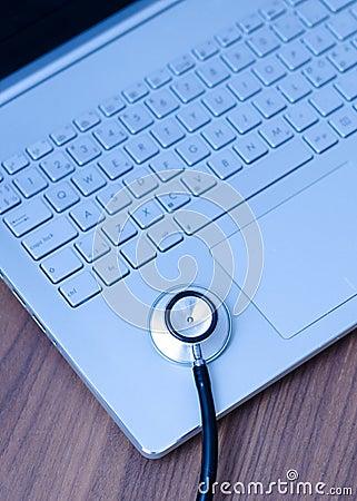 Computer Health Check Stock Photo - Image: 44131998