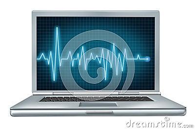 Laptop Pc Computer Health Check Concept Stock Photo - Image: 22210660