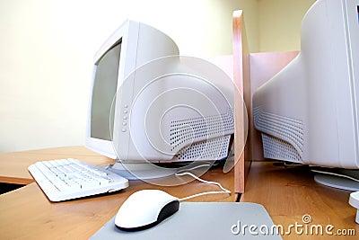 Computer in het klaslokaal