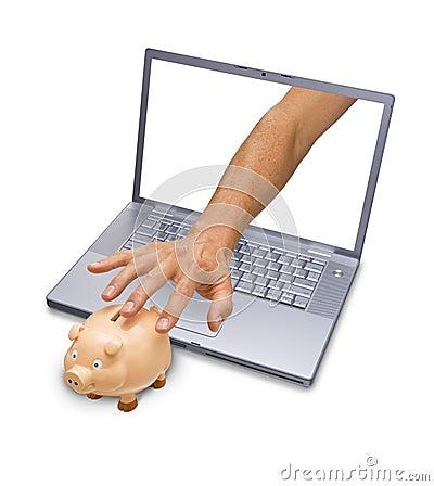 Computer Internet Cyber Crime