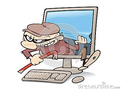 Computer intruder