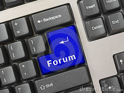 Computer keyboard -  key Forum