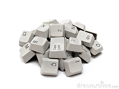 Computer keyboard keys